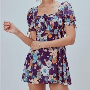 NWT For Love and Lemons Magnolia Mini Dress